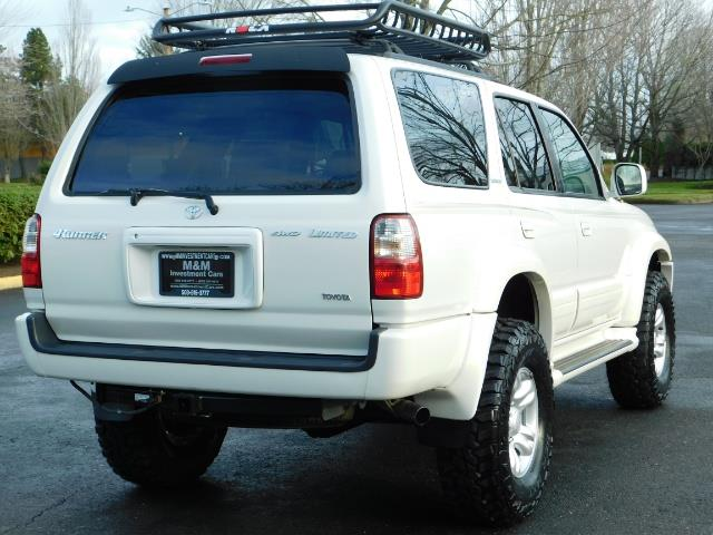 2002 Toyota 4Runner Limited 4X4 / Heated Seats / TIMING BELT / LIFTED - Photo 8 - Portland, OR 97217
