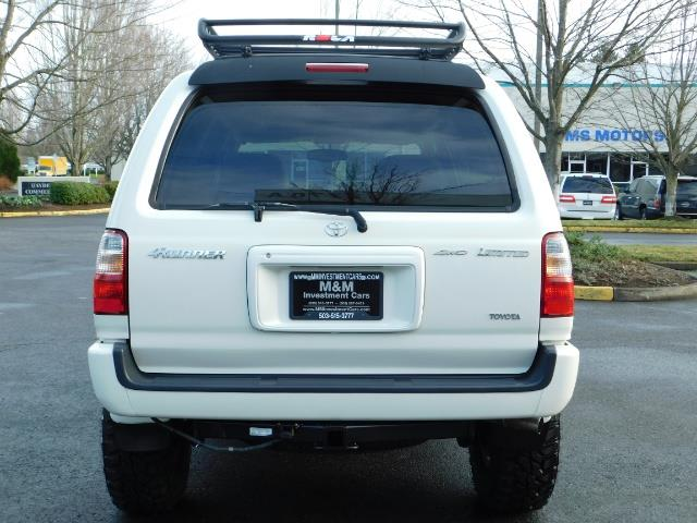 2002 Toyota 4Runner Limited 4X4 / Heated Seats / TIMING BELT / LIFTED - Photo 6 - Portland, OR 97217