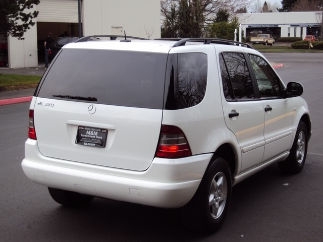 2001 mercedes benz ml320 for Mercedes benz suv 2001