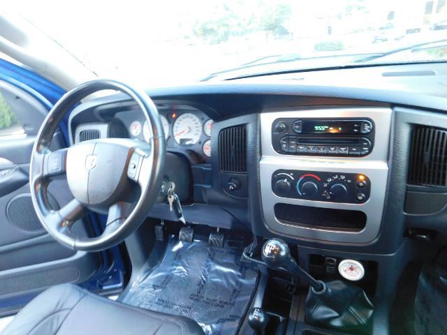 2005 Dodge Ram 3500 Laramie 4dr Quad Cab / 4X4 / 5.9L DIESEL / 6-SPEED - Photo 19 - Portland, OR 97217
