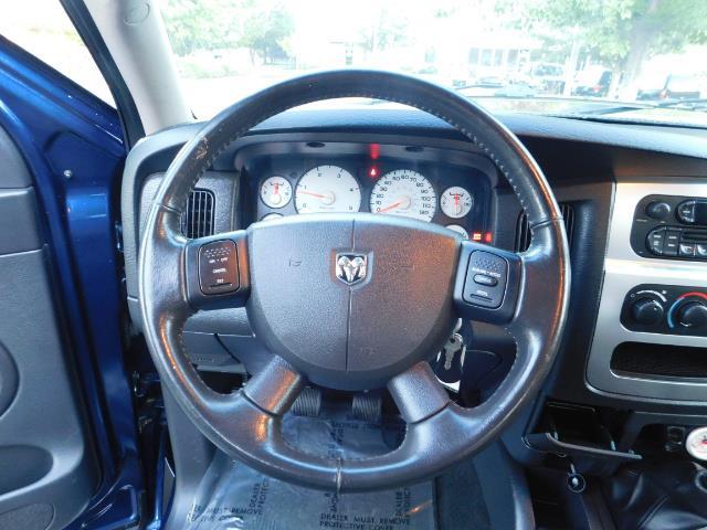 2005 Dodge Ram 3500 Laramie 4dr Quad Cab / 4X4 / 5.9L DIESEL / 6-SPEED - Photo 38 - Portland, OR 97217