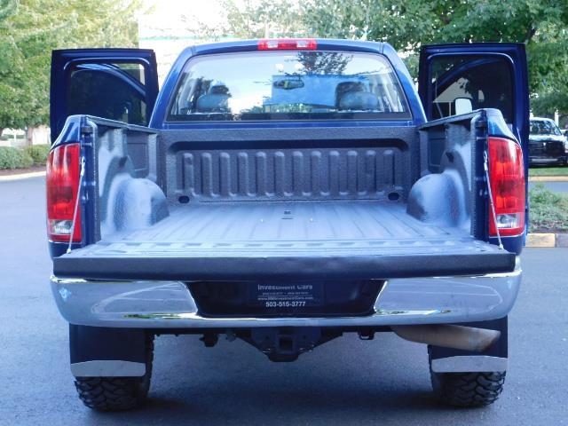 2005 Dodge Ram 3500 Laramie 4dr Quad Cab / 4X4 / 5.9L DIESEL / 6-SPEED - Photo 22 - Portland, OR 97217