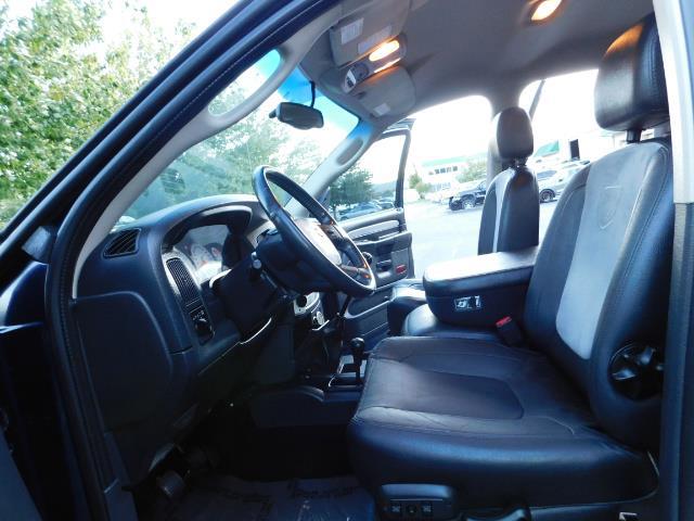 2005 Dodge Ram 3500 Laramie 4dr Quad Cab / 4X4 / 5.9L DIESEL / 6-SPEED - Photo 15 - Portland, OR 97217