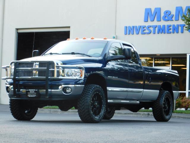 2005 Dodge Ram 3500 Laramie 4dr Quad Cab / 4X4 / 5.9L DIESEL / 6-SPEED - Photo 48 - Portland, OR 97217