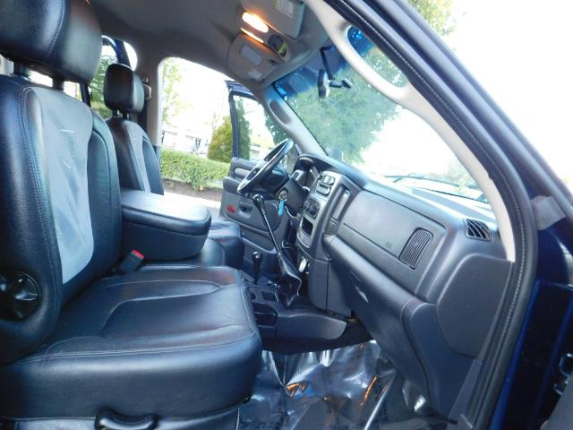 2005 Dodge Ram 3500 Laramie 4dr Quad Cab / 4X4 / 5.9L DIESEL / 6-SPEED - Photo 18 - Portland, OR 97217