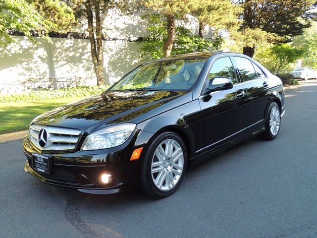2009 mercedes benz c300 4matic luxury 4wd navigation 50k. Black Bedroom Furniture Sets. Home Design Ideas