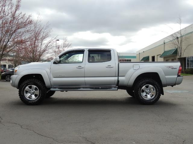 2007 toyota tacoma v6 double cab 4wd long bed trd lifted. Black Bedroom Furniture Sets. Home Design Ideas