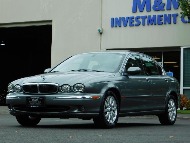 2003 Jaguar X-Type 2.5 / Sedan / AWD / Leather / Sunroof / EXCL COND - Photo 44 - Portland, OR 97217