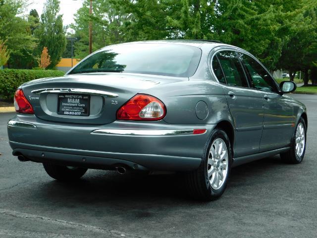 2003 Jaguar X-Type 2.5 / Sedan / AWD / Leather / Sunroof / EXCL COND - Photo 7 - Portland, OR 97217
