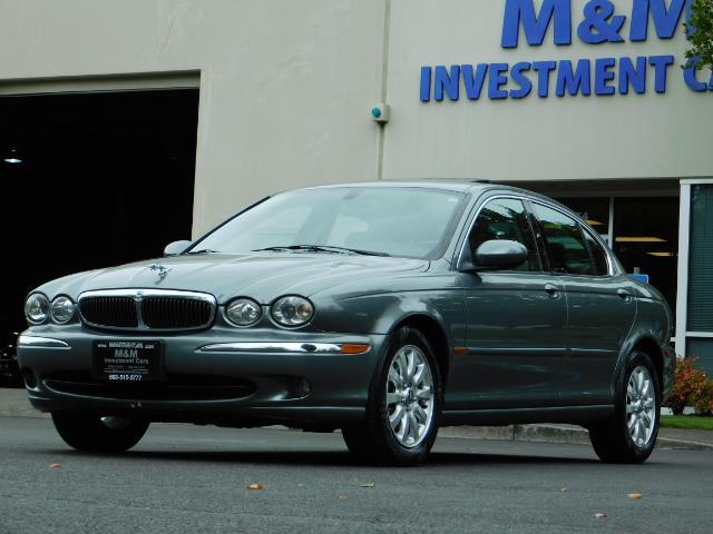 2003 Jaguar X-Type 2.5 / Sedan / AWD / Leather / Sunroof / EXCL COND - Photo 45 - Portland, OR 97217