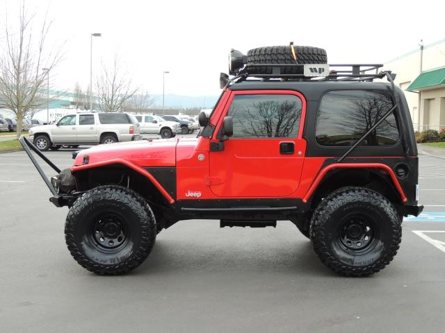Marvelous 2005 Jeep Wrangler X 2dr / 4X4 / 6 SPEED / Hard Top / LIFTED