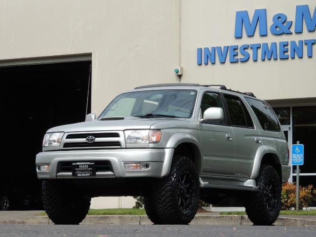 2000 Toyota 4Runner SPORT SR5 / 4X4 / Sunroof / LIFTED LIFTED - Photo 47 - Portland, OR 97217