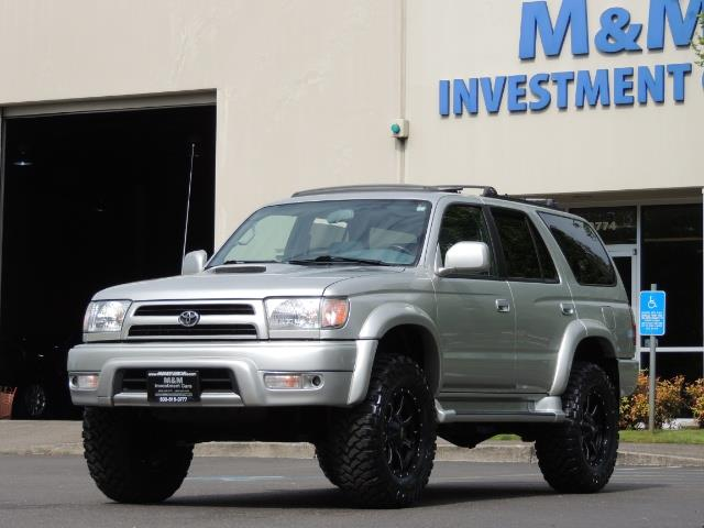 2000 Toyota 4Runner SPORT SR5 / 4X4 / Sunroof / LIFTED LIFTED - Photo 50 - Portland, OR 97217