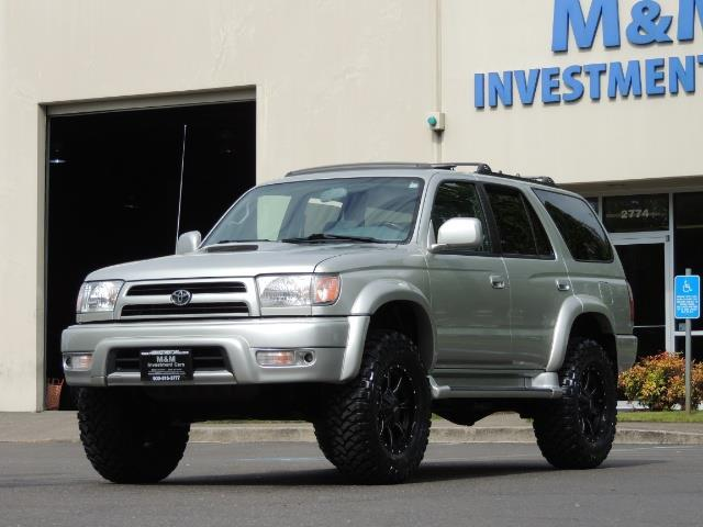 2000 Toyota 4Runner SPORT SR5 / 4X4 / Sunroof / LIFTED LIFTED - Photo 46 - Portland, OR 97217