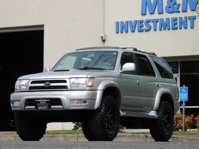2000 Toyota 4Runner SPORT SR5 / 4X4 / Sunroof / LIFTED LIFTED - Photo 44 - Portland, OR 97217