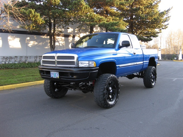2001 dodge ram 1500 slt quad cab 4x4 monster lift beautiful. Black Bedroom Furniture Sets. Home Design Ideas