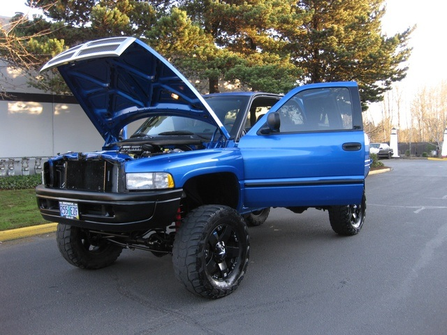 2001 Dodge Ram 1500 Slt Quad Cab 4x4 Monster Lift