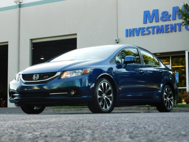 2013 Honda Civic Si / Spoiler / Sunroof / 6-SPEED MANUAL / 1-OWNER - Photo 43 - Portland, OR 97217