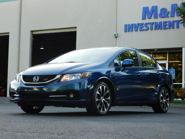 2013 Honda Civic Si / Spoiler / Sunroof / 6-SPEED MANUAL / 1-OWNER - Photo 44 - Portland, OR 97217