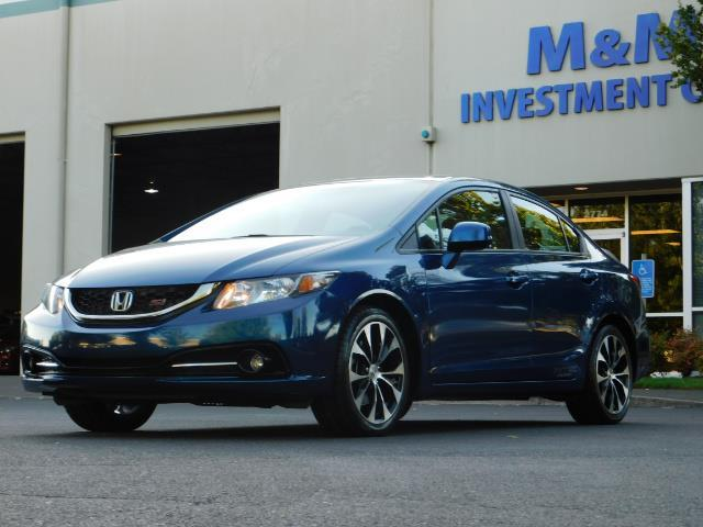 2013 Honda Civic Si / Spoiler / Sunroof / 6-SPEED MANUAL / 1-OWNER - Photo 42 - Portland, OR 97217