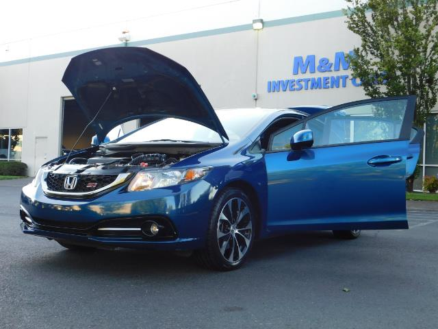 2013 Honda Civic Si / Spoiler / Sunroof / 6-SPEED MANUAL / 1-OWNER - Photo 25 - Portland, OR 97217
