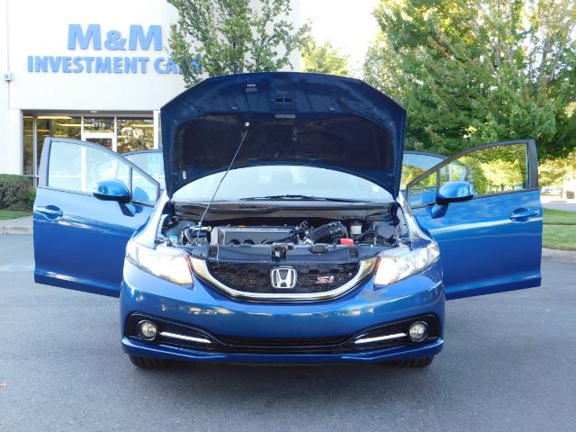 2013 Honda Civic Si / Spoiler / Sunroof / 6-SPEED MANUAL / 1-OWNER - Photo 32 - Portland, OR 97217