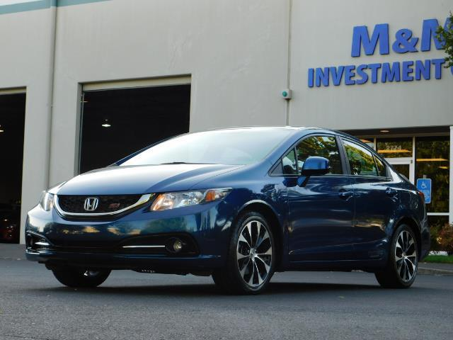 2013 Honda Civic Si / Spoiler / Sunroof / 6-SPEED MANUAL / 1-OWNER - Photo 1 - Portland, OR 97217