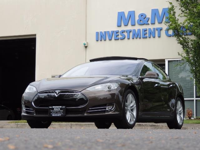 2013 Tesla Model S Signature 85kWh / Panorama Roof / Navigation / - Photo 47 - Portland, OR 97217