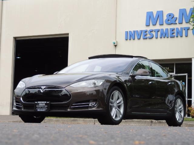 2013 Tesla Model S Signature 85kWh / Panorama Roof / Navigation / - Photo 34 - Portland, OR 97217