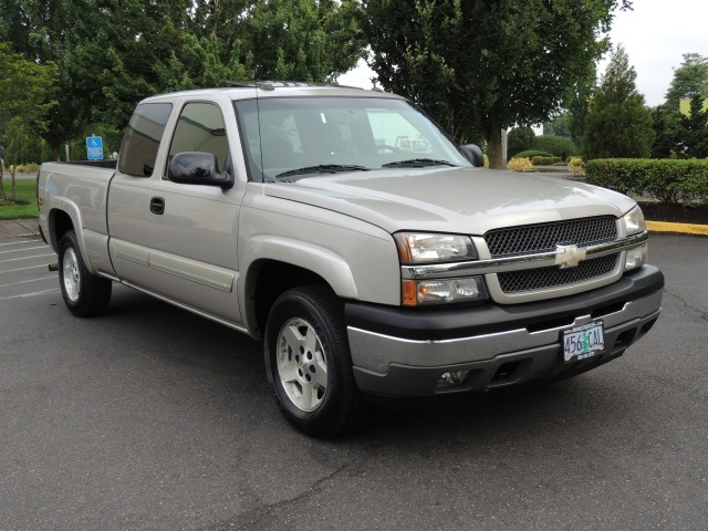 2005 Chevrolet Silverado 1500 Ls 4x4 4 Door Sunroof 5 3l