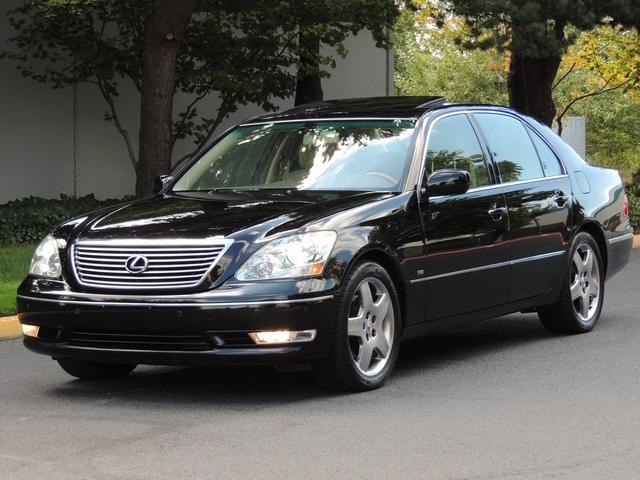2004 Lexus LS 430 Luxury Sedan / Navigation / Fully Loaded/ MINT