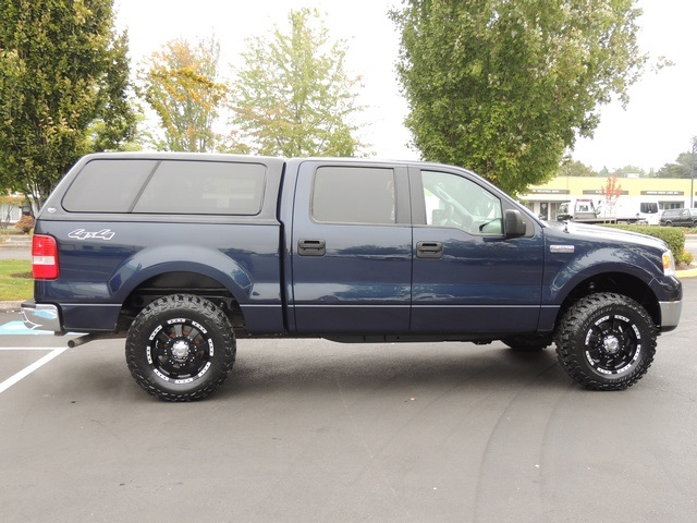 2006 Ford F-150 XLT / 4X4 / Leather / Canopy / LIFTED - Photo & 2006 Ford F-150 XLT / 4X4 / Leather / Canopy / LIFTED