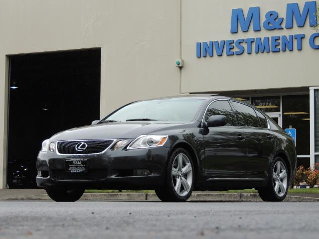 2007 Lexus GS 350 / Luxury Sport Sedan / Navigation / Back Up Ca - Photo 52 - Portland, OR 97217