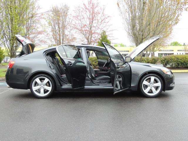 2007 Lexus GS 350 / Luxury Sport Sedan / Navigation / Back Up Ca - Photo 30 - Portland, OR 97217