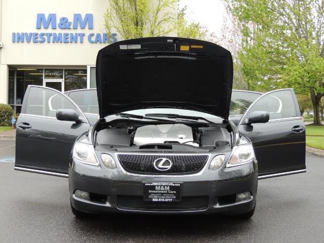 2007 Lexus GS 350 / Luxury Sport Sedan / Navigation / Back Up Ca - Photo 32 - Portland, OR 97217