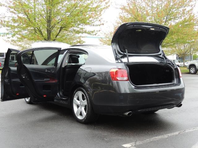 2007 Lexus GS 350 / Luxury Sport Sedan / Navigation / Back Up Ca - Photo 27 - Portland, OR 97217