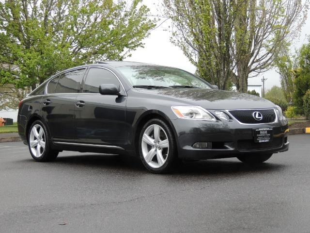 2007 Lexus GS 350 / Luxury Sport Sedan / Navigation / Back Up Ca - Photo 2 - Portland, OR 97217