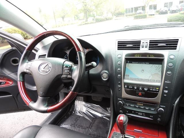 2007 Lexus GS 350 / Luxury Sport Sedan / Navigation / Back Up Ca - Photo 20 - Portland, OR 97217