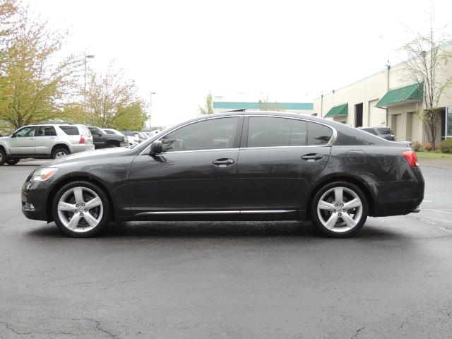 2007 Lexus GS 350 / Luxury Sport Sedan / Navigation / Back Up Ca - Photo 3 - Portland, OR 97217