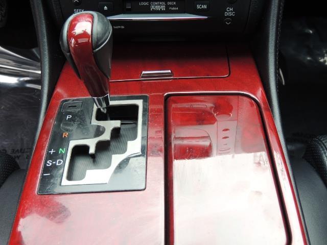 2007 Lexus GS 350 / Luxury Sport Sedan / Navigation / Back Up Ca - Photo 21 - Portland, OR 97217