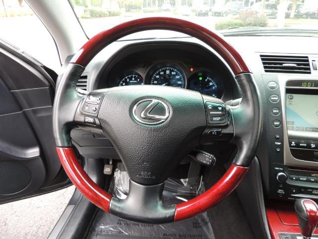 2007 Lexus GS 350 / Luxury Sport Sedan / Navigation / Back Up Ca - Photo 38 - Portland, OR 97217