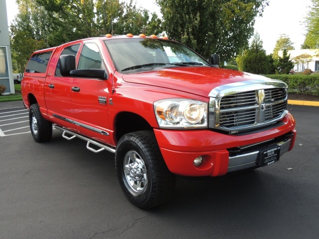 2007 dodge ram 2500 mega cab laramie 4x4 h o 5 9l cummins diesel. Black Bedroom Furniture Sets. Home Design Ideas