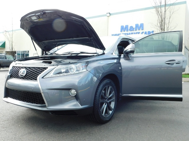 2013 Lexus RX 350 F SPORT / AWD / FULLY LOADED / 1-OWNER - Photo 30 - Portland, OR 97217