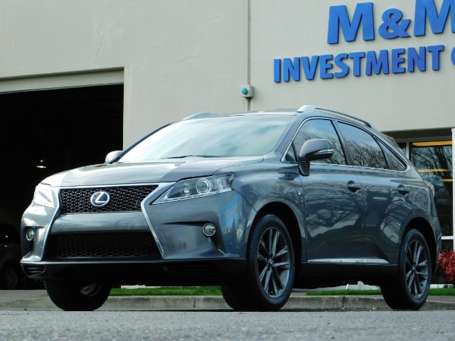 2013 Lexus RX 350 F SPORT / AWD / FULLY LOADED / 1-OWNER - Photo 41 - Portland, OR 97217