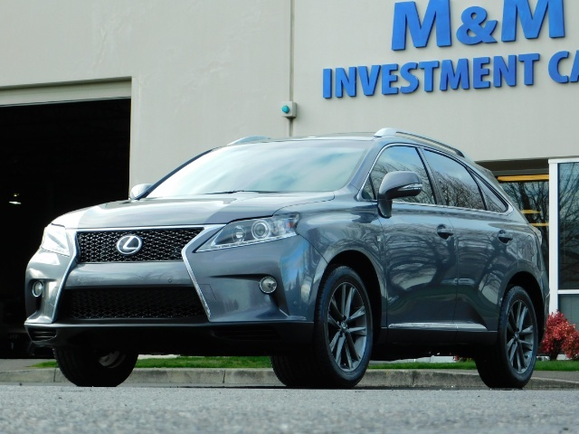 2013 Lexus RX 350 F SPORT / AWD / FULLY LOADED / 1-OWNER - Photo 40 - Portland, OR 97217
