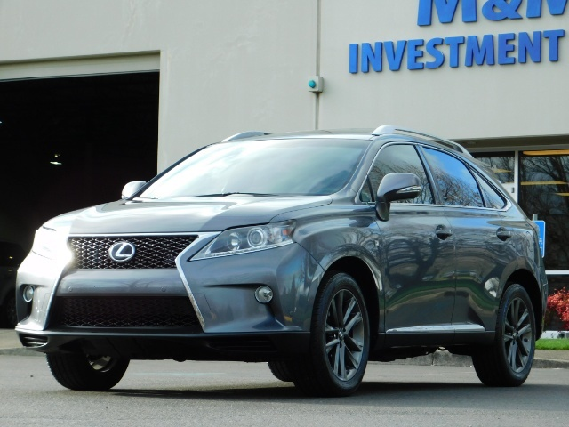 2013 Lexus RX 350 F SPORT / AWD / FULLY LOADED / 1-OWNER - Photo 43 - Portland, OR 97217