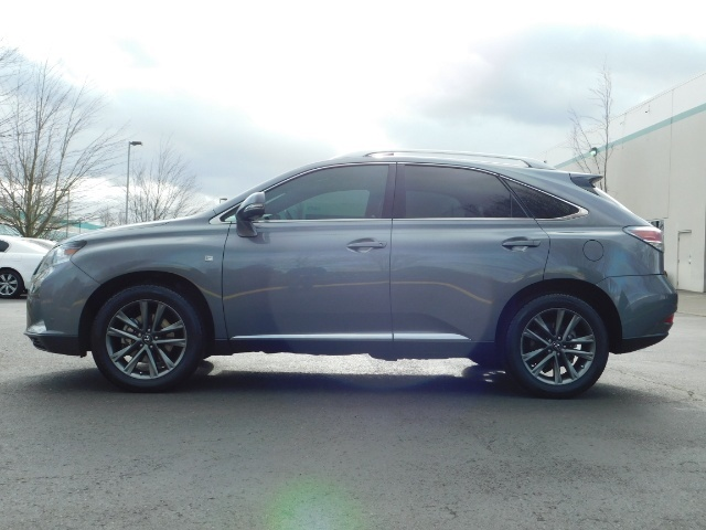 2013 Lexus RX 350 F SPORT / AWD / FULLY LOADED / 1-OWNER - Photo 3 - Portland, OR 97217