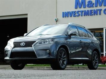 2013 Lexus RX 350 F SPORT / AWD / FULLY LOADED / 1-OWNER SUV