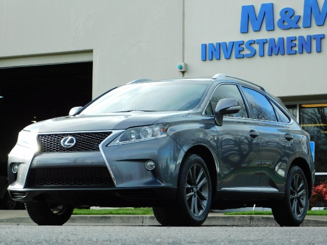 2013 Lexus RX 350 F SPORT / AWD / FULLY LOADED / 1-OWNER - Photo 44 - Portland, OR 97217
