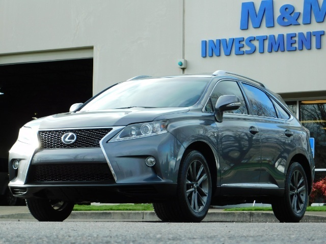 2013 Lexus RX 350 F SPORT / AWD / FULLY LOADED / 1-OWNER - Photo 42 - Portland, OR 97217